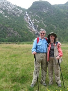 Barb and Jim in Glen Nevis August 2008